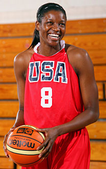 Delisha Milton-Jones Basketball Professional Athelete